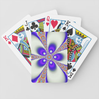 Groovy Fractal Bicycle Playing Cards