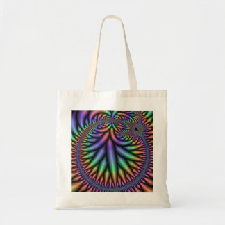Groovy Fractal Tote Bag