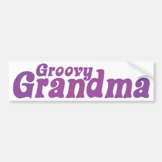 Groovy Grandma Bumper Sticker