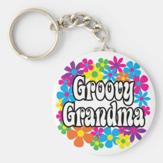 Groovy Grandma Keychain