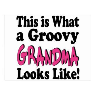 Groovy Grandma Postcard