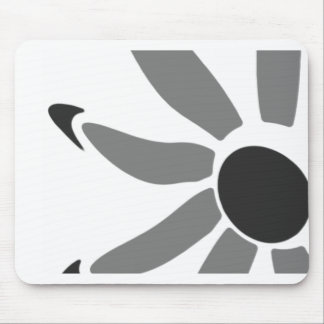 Groovy Graphic Bloom Mouse Pad
