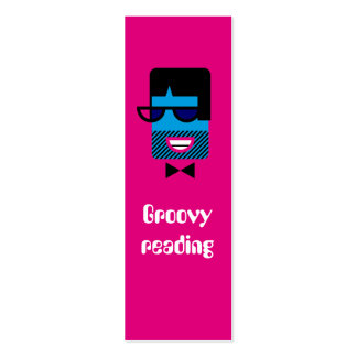 Groovy Guy bookmark Business Card Templates