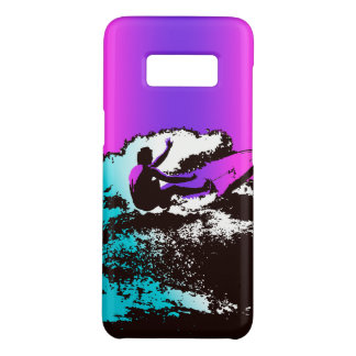 Groovy Hawaiian Surfer 1960's Retro - Violet Case-Mate Samsung Galaxy S8 Case