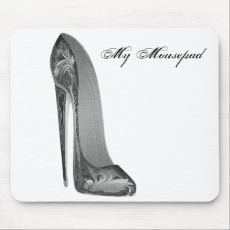 Groovy High Heel Stiletto Shoe Art Gifts Mouse Pad