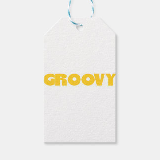 Groovy Hippie Peace Sign Love Sixties Seventies Gift Tags