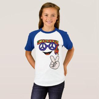 Groovy hippy peace shirt