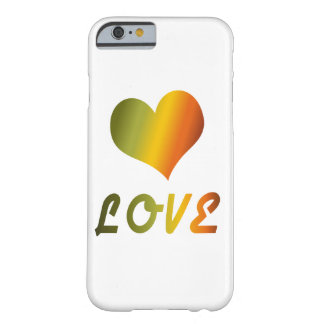 Groovy Love Barely There iPhone 6 Case