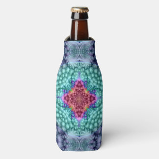 Groovy Man Kaleidoscope   Colorful Bottle Cooler