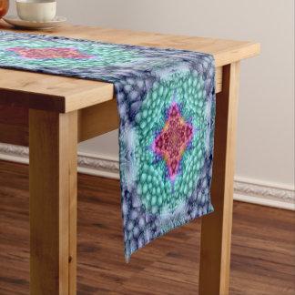 Groovy Man  Kaleidoscope  Colorful Table Runner
