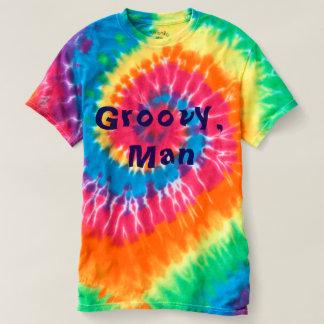 Groovy, Man  Tie Dye Men's Shirt
