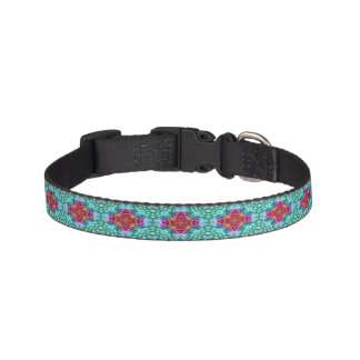 Groovy Man  Tiled Dog Collars