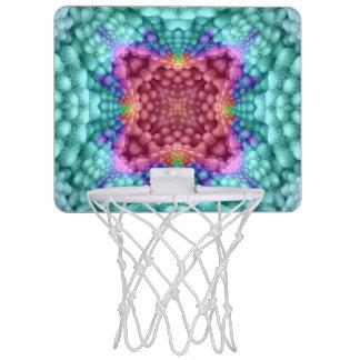 Groovy Man  Vintage Kaleidoscope Basketball Hoops