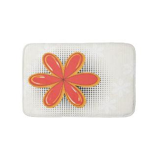 Groovy Mod Flower Bathmat