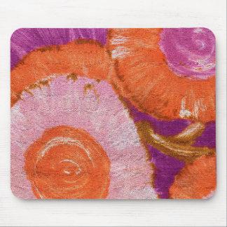 Groovy, Mod Purple Swirl Mouse Pad