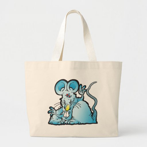 Groovy Mouse Tote Bags