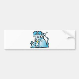 Groovy Mouse Bumper Sticker