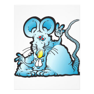 Groovy Mouse Personalized Flyer