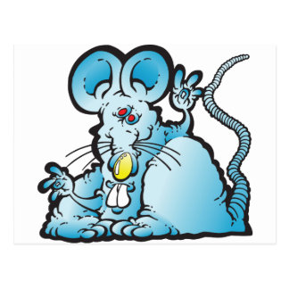 Groovy Mouse Postcard