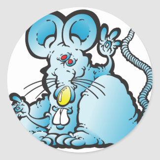 Groovy Mouse Stickers
