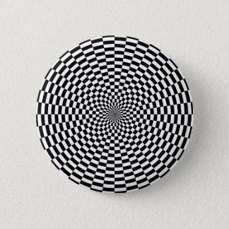 Groovy Op Art Button