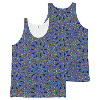 Groovy Pattern, Man All-Over-Print Tank Top