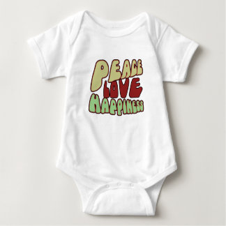 Groovy Peace Baby Bodysuit