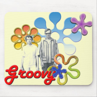 Groovy Pop Art  Mousepad