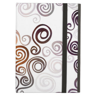 Groovy Purple Swirling Art Case For iPad Air
