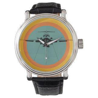 Groovy Retro Airliner Jet Watch