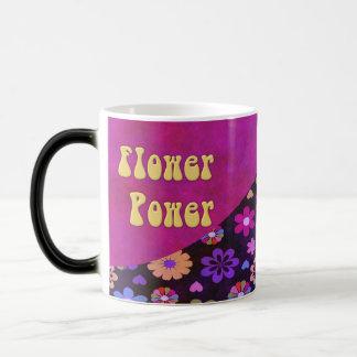 Groovy Retro Flower Power 60s 70s Morphing Mug
