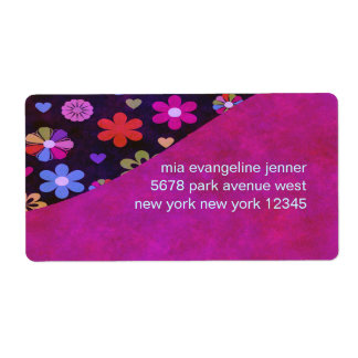 Groovy Retro Flower Power 60s 70s Personalized