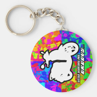 Groovy Scooter keychain