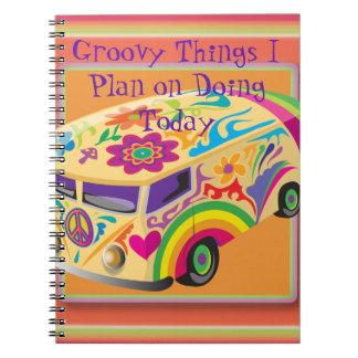 Groovy Things Planner Notebook