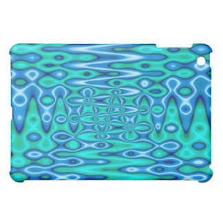 groovy turquoise blue case for the iPad mini