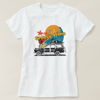 Groovy Vixen Woodie T T-Shirt