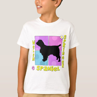Groovy Welsh Springer Spaniel T-Shirt