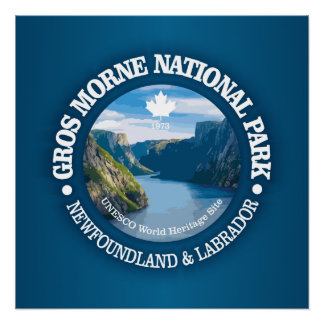 Gros Morne National Park Poster