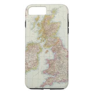 Grossbritannien, Irland - Map of UK, Ireland Case-Mate iPhone Case
