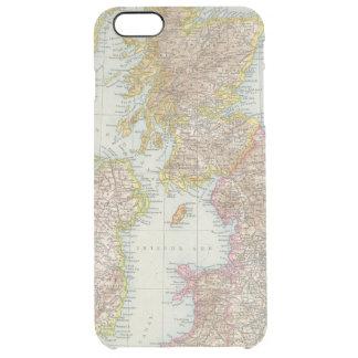 Grossbritannien, Irland - Map of UK, Ireland Clear iPhone 6 Plus Case