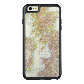 Grossbritannien, Irland - Map of UK, Ireland OtterBox iPhone 6/6s Plus Case
