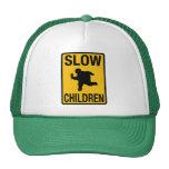 Grosse parodie de plaque de rue d'enfant d'enfants casquette
