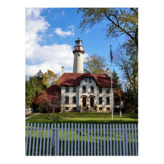 Grosse Point Lighthouse in Evanston, IL Postcard