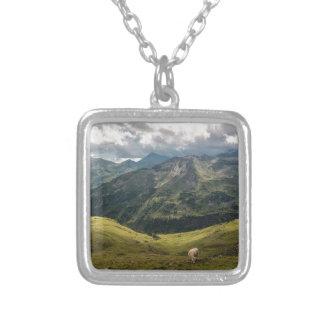 Grossglockner  valley silver plated necklace