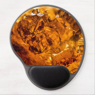 Grossular Garnet Crystals Gel Mouse Pad