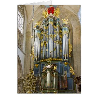 Grote Kerk, Breda, thank you card