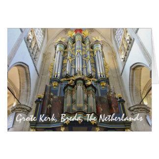 Grote Kerk, Breda, The Netherlands Card