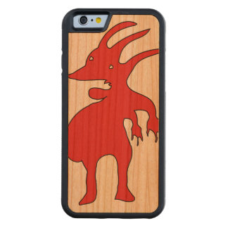 Grotesque Creature Isolated Carved Cherry iPhone 6 Bumper Case