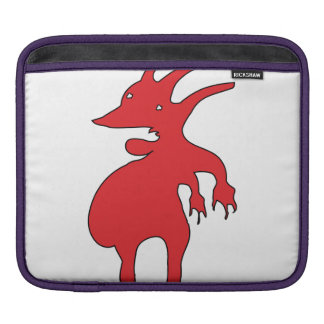 Grotesque Creature Isolated iPad Sleeve