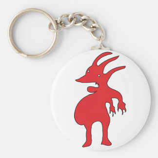 Grotesque Creature Isolated Keychain